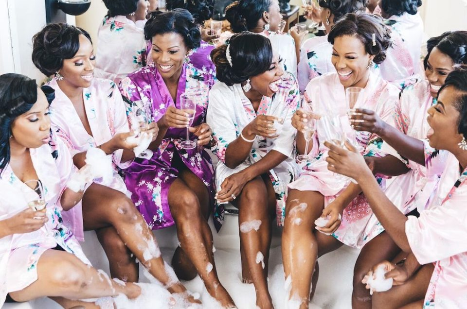 Floral Twists on The Classic Bachelorette Party