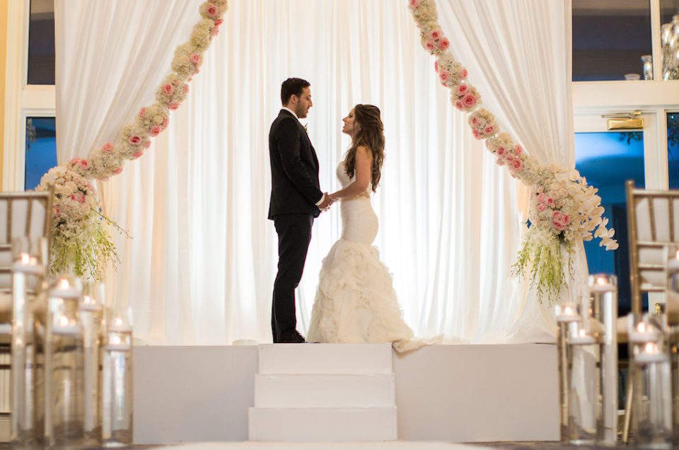 Blush and Gold Regal Styled Shoot at the Trump Doral Hotel
