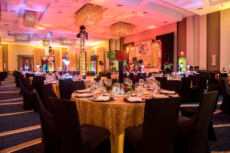 Luxurious and Artistic James Bond Corporate Party