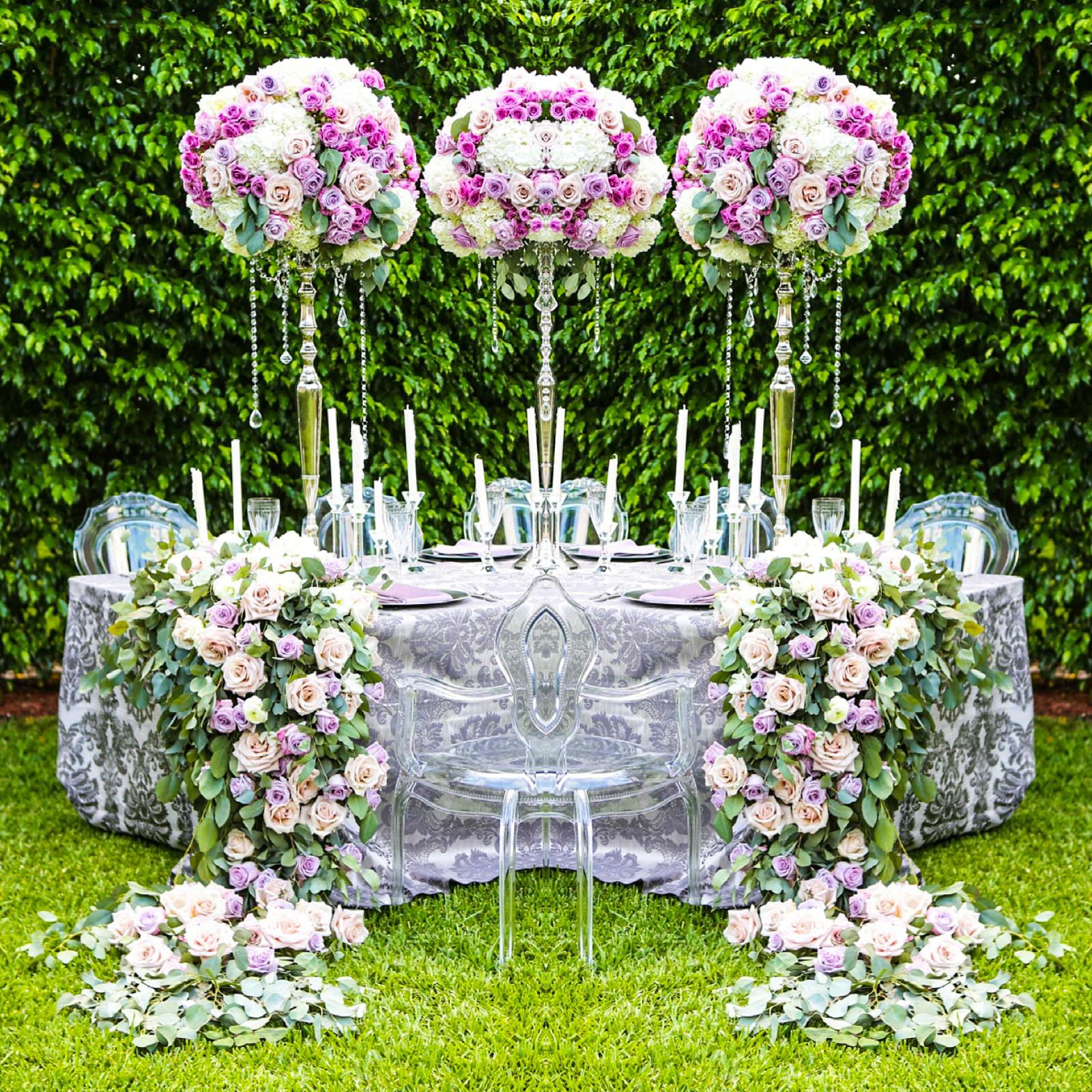 Garden Wedding European Inspired Panache Style