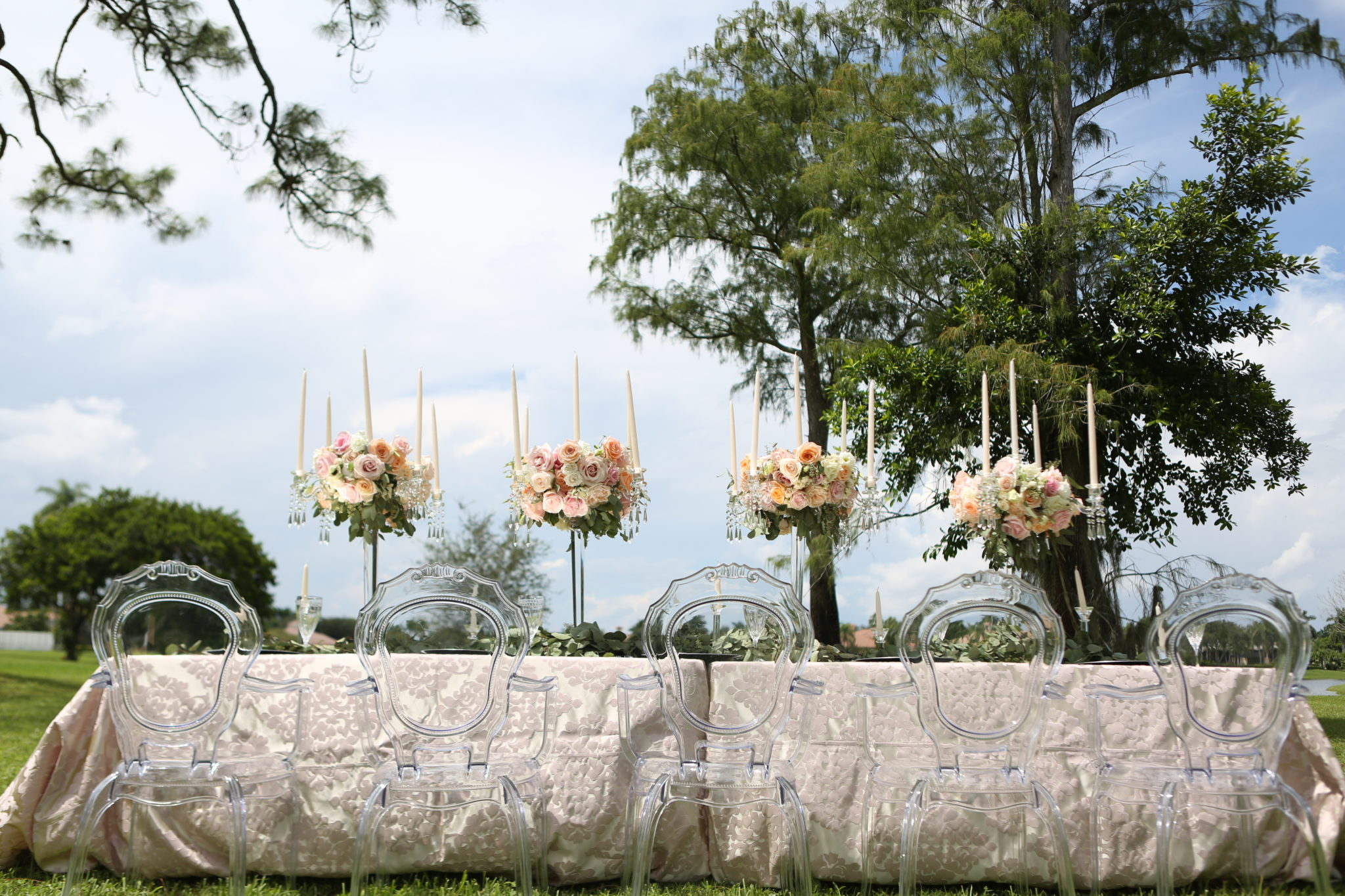 outdoor wedding rustic panache style
