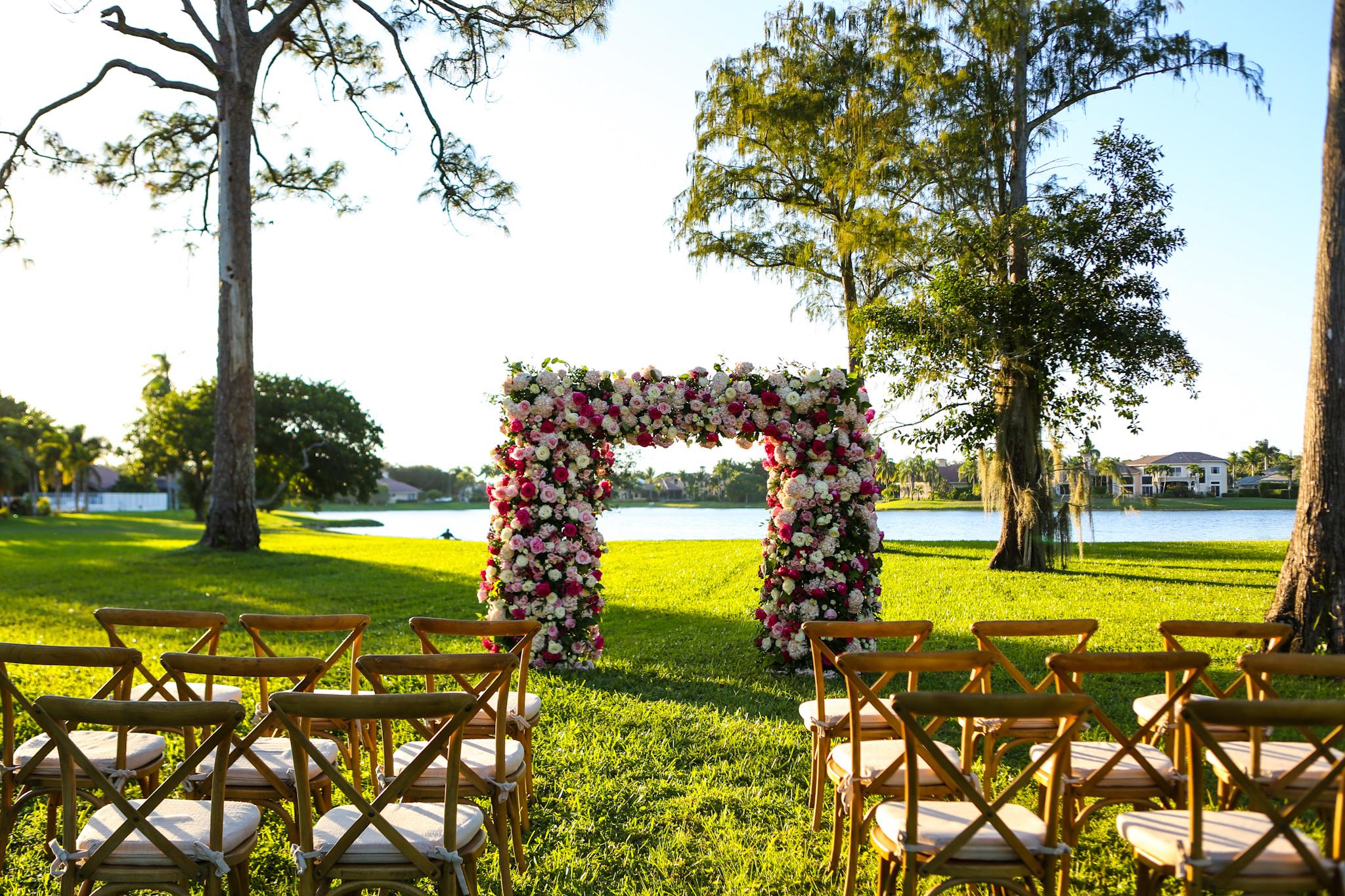 Panache Style floral Arch